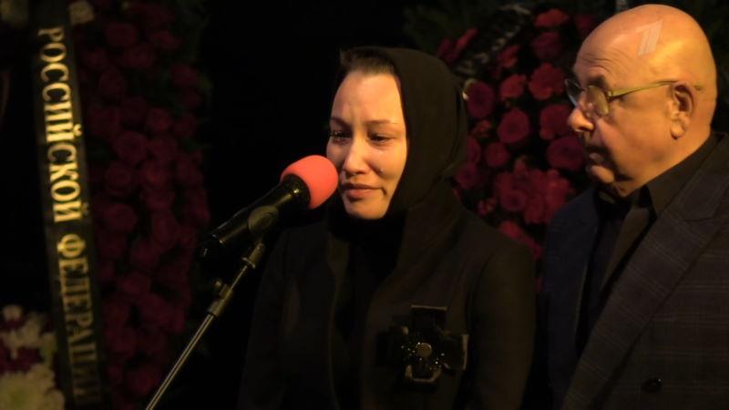 Пусть говорят 28.01.2021 – Впервые после похорон: вдова Бориса Грачевского